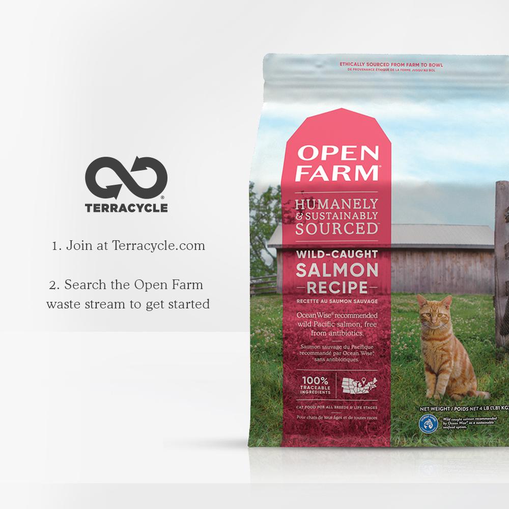 Open Farm Open Farm \ Cat \ Dry \ Wild Salmon 4 lbs