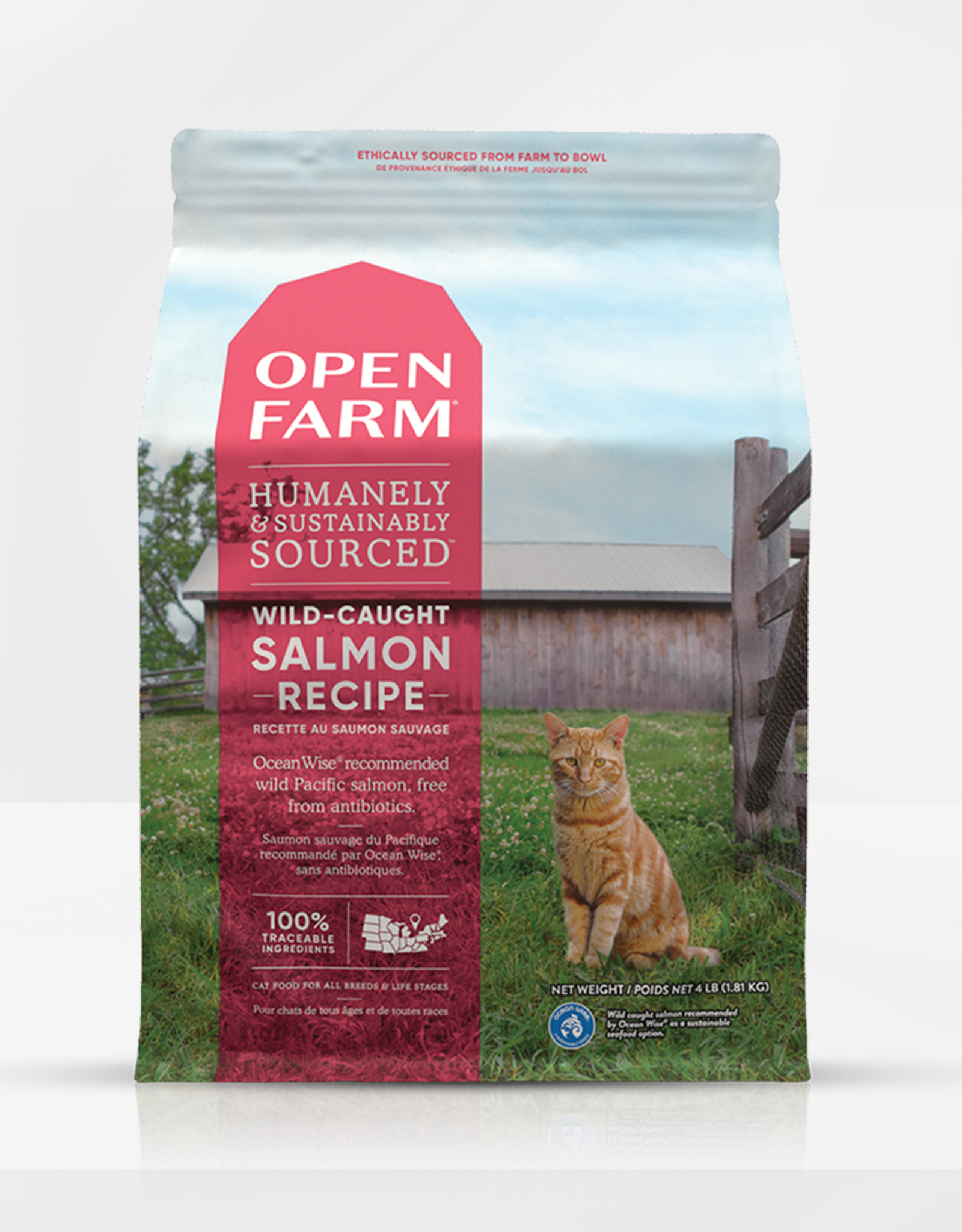 Open Farm Open Farm Cat Wild Caught Salmon 4lb