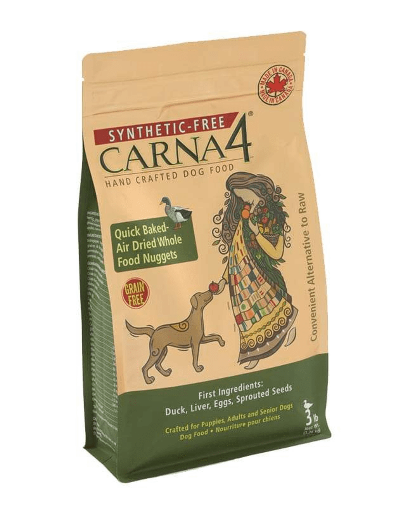 Carna4 Carna4 Dog Food Duck 3lbs