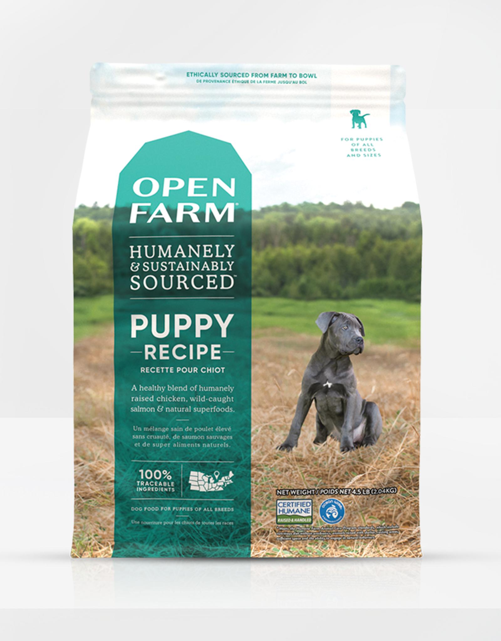 Open Farm Open Farm  Puppy Recipe 4.5lb