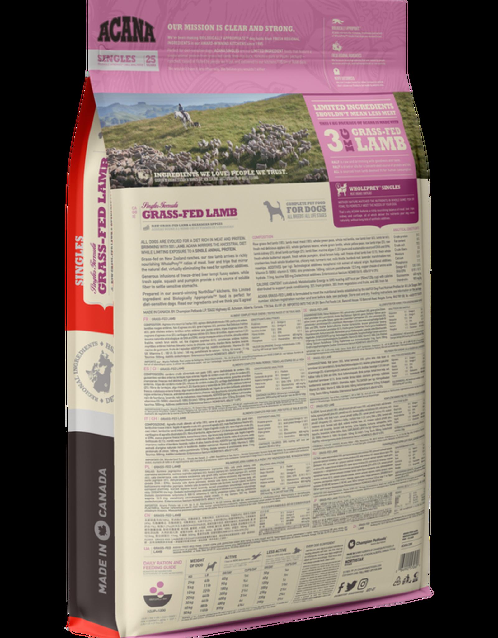 Acana Acana- Grass-Fed Lamb 11.4kg