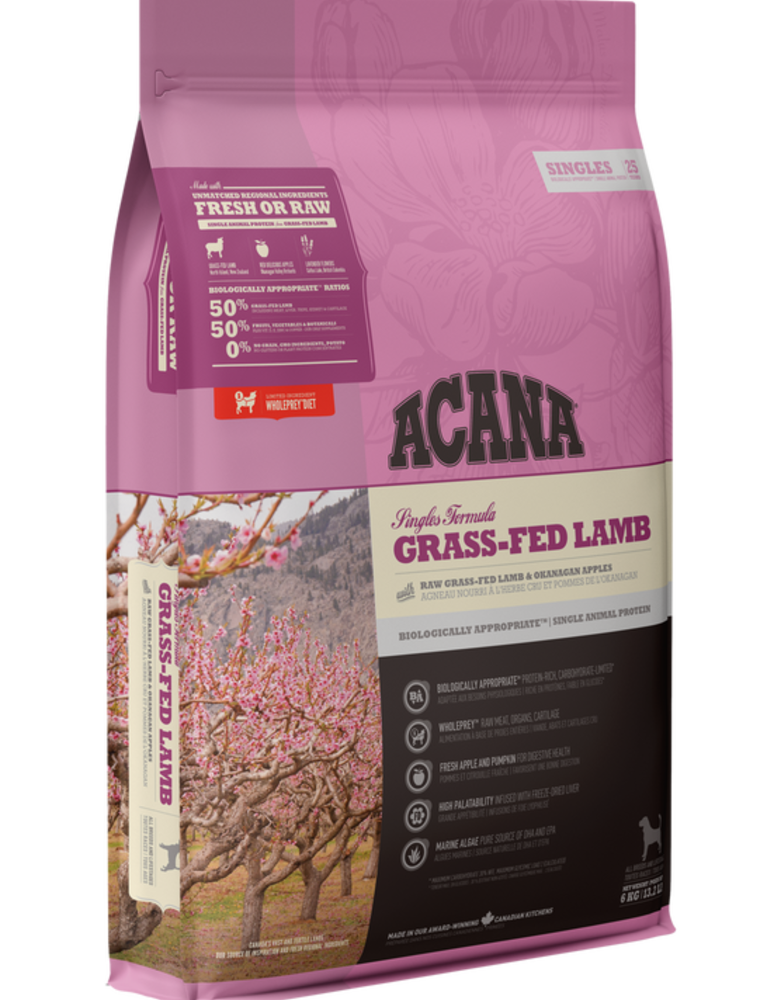Acana Acana- Grass-Fed Lamb 6kg