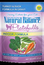 NATURAL BALANCE PET FOODS INC NB Platefulls / Indoor / Turkey & Duck 3oz