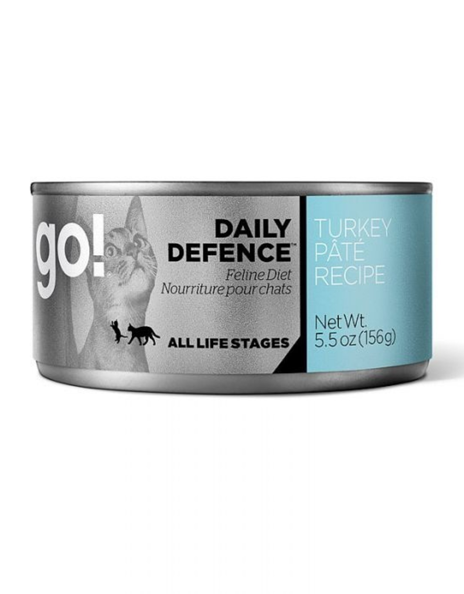 Go Go! Cat Turkey Pate 5.5oz