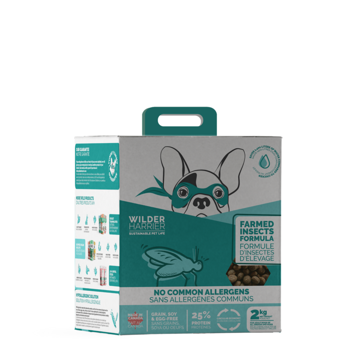 Wilder Harrier Wilder Harrier Farmed Insects 2KG