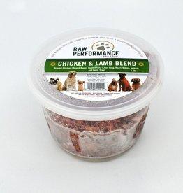 Raw Performance Raw Performance - Chicken & Lamb Blend 1 lb