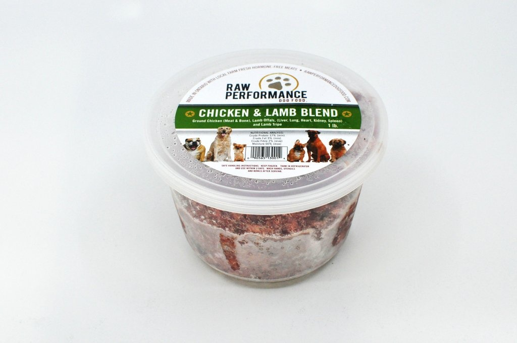 Raw Performance Raw Performance - Chicken & Lamb Blend 1lb
