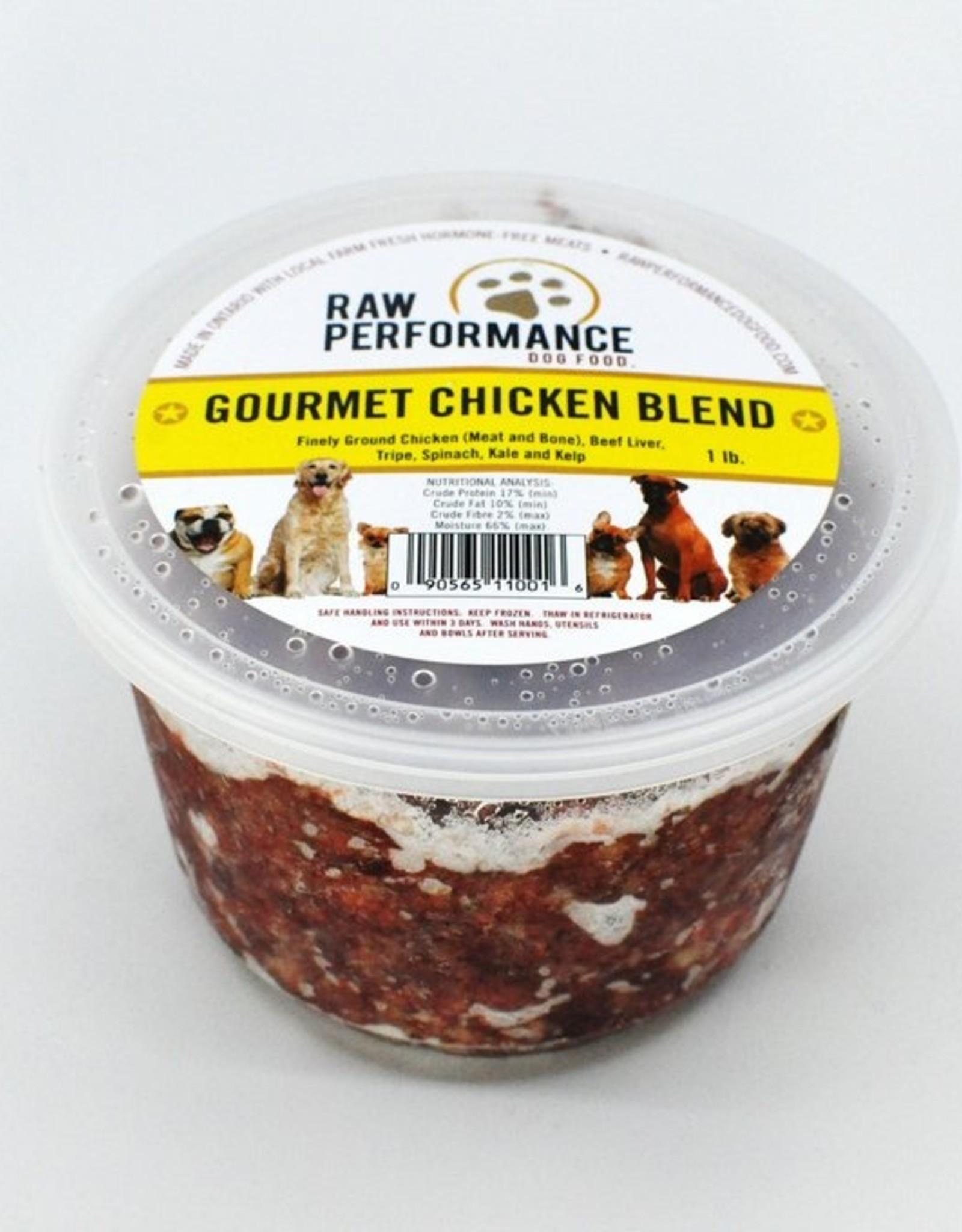 Raw Performance Raw Performance - Gourmet Chicken Blend 1lb
