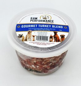 Raw Performance Raw Performance - Gourmet Turkey Blend 1lb