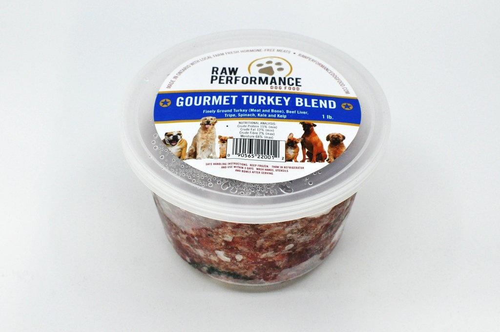 Raw Performance Raw Performance - Gourmet Turkey Blend 1lb