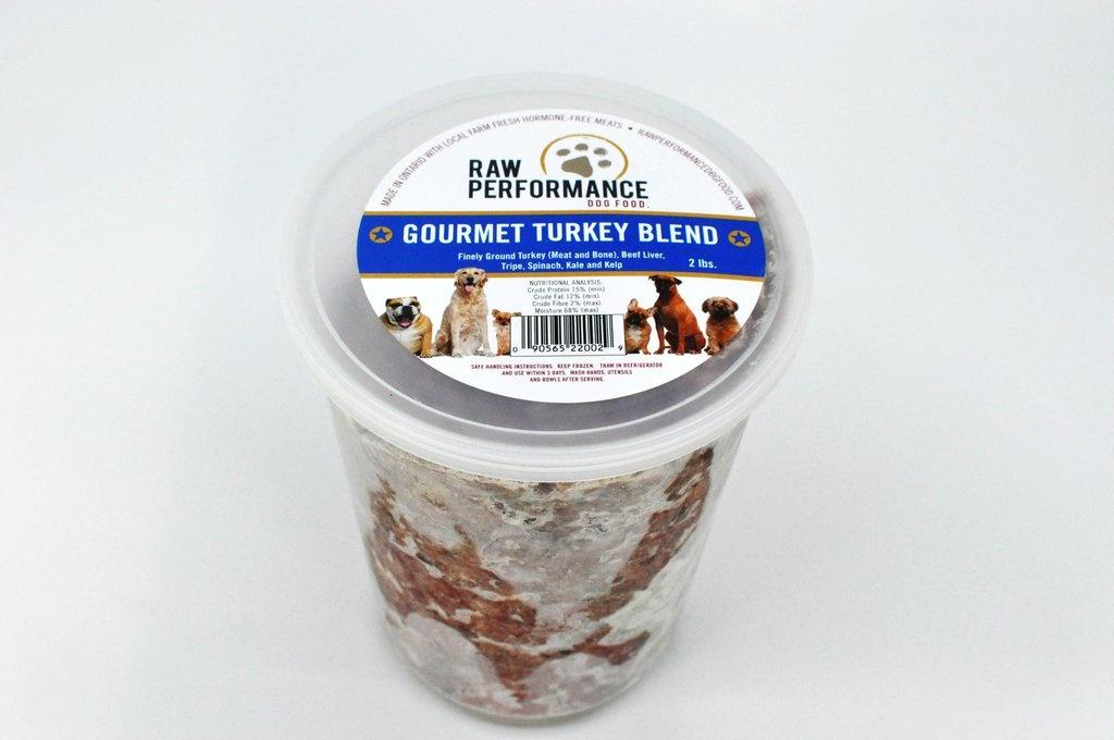 Raw Performance Raw Performance - Gourmet Turkey Blend 2lb