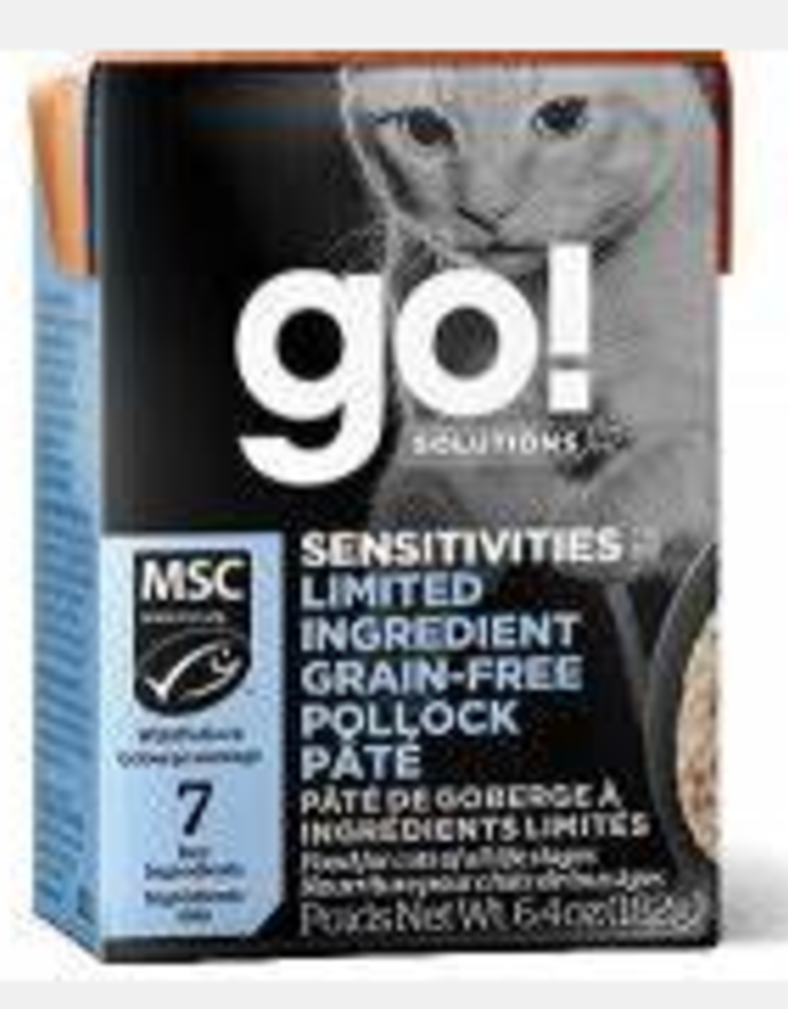 Go Go! Cat Pollock Pate 6.4 oz