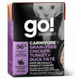 Go Go! Cat Chicken + Turkey + Duck Pate 6.4 oz