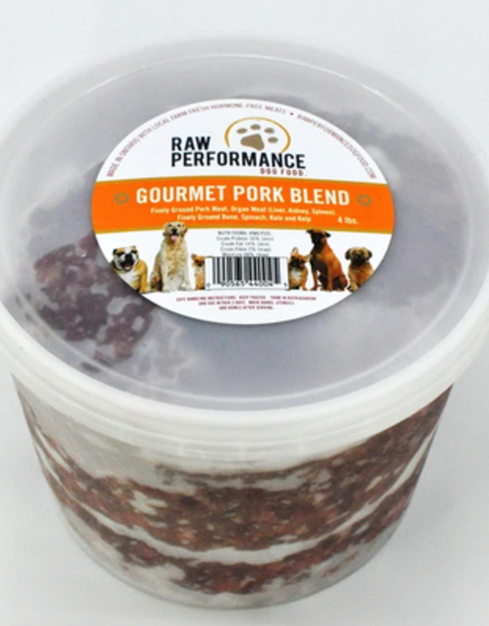 Raw Performance Raw Performance - Gourmet Pork Blend 4lb