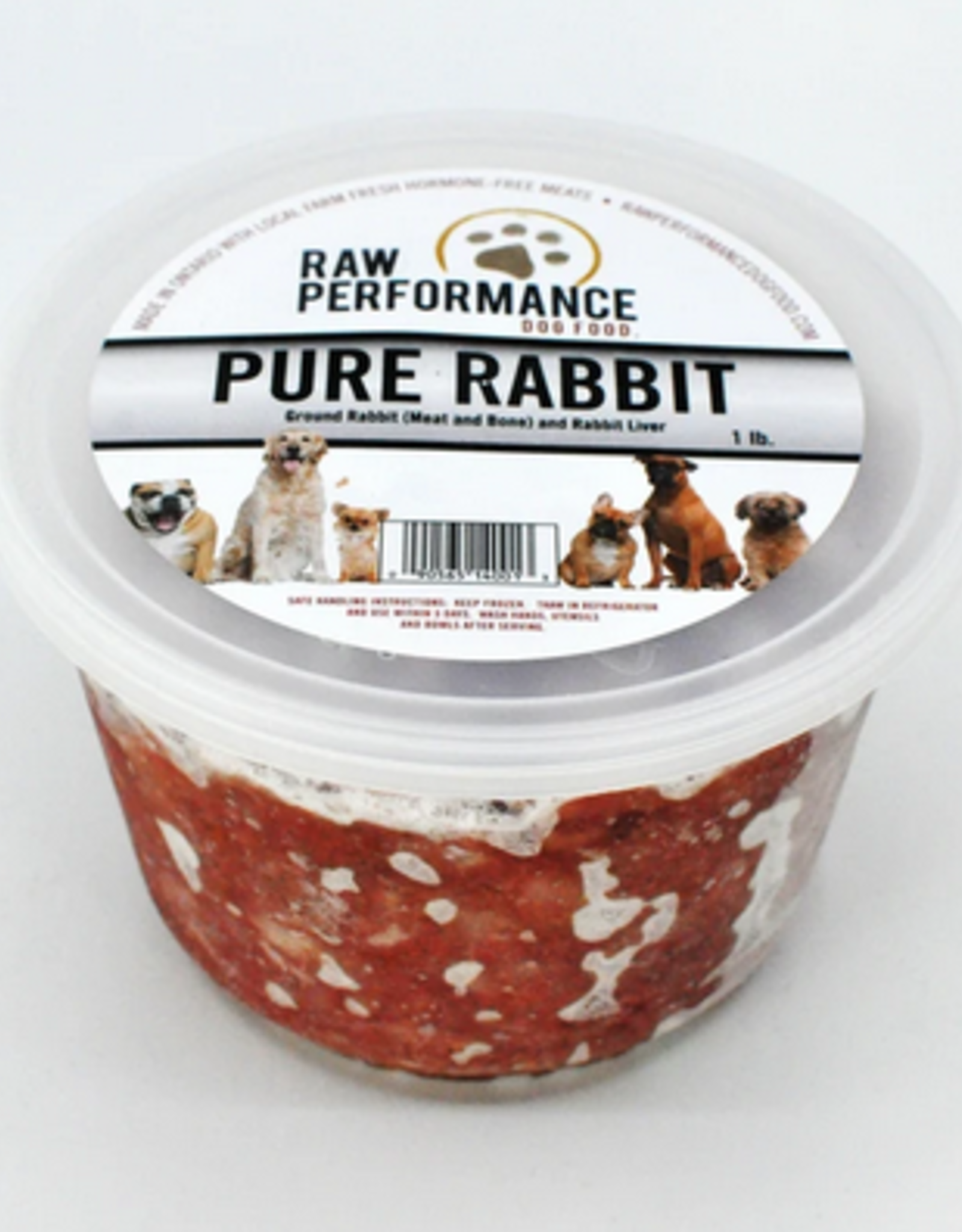 Raw Performance Raw Performance - Pure Rabbit 1lb