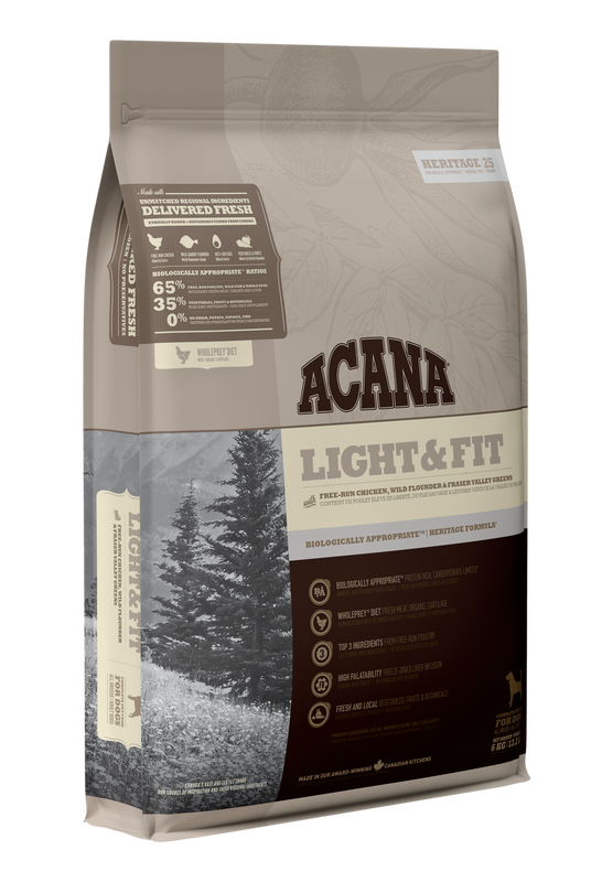 Acana Acana Light & Fit - Chicken Flounder & Greens 6kg