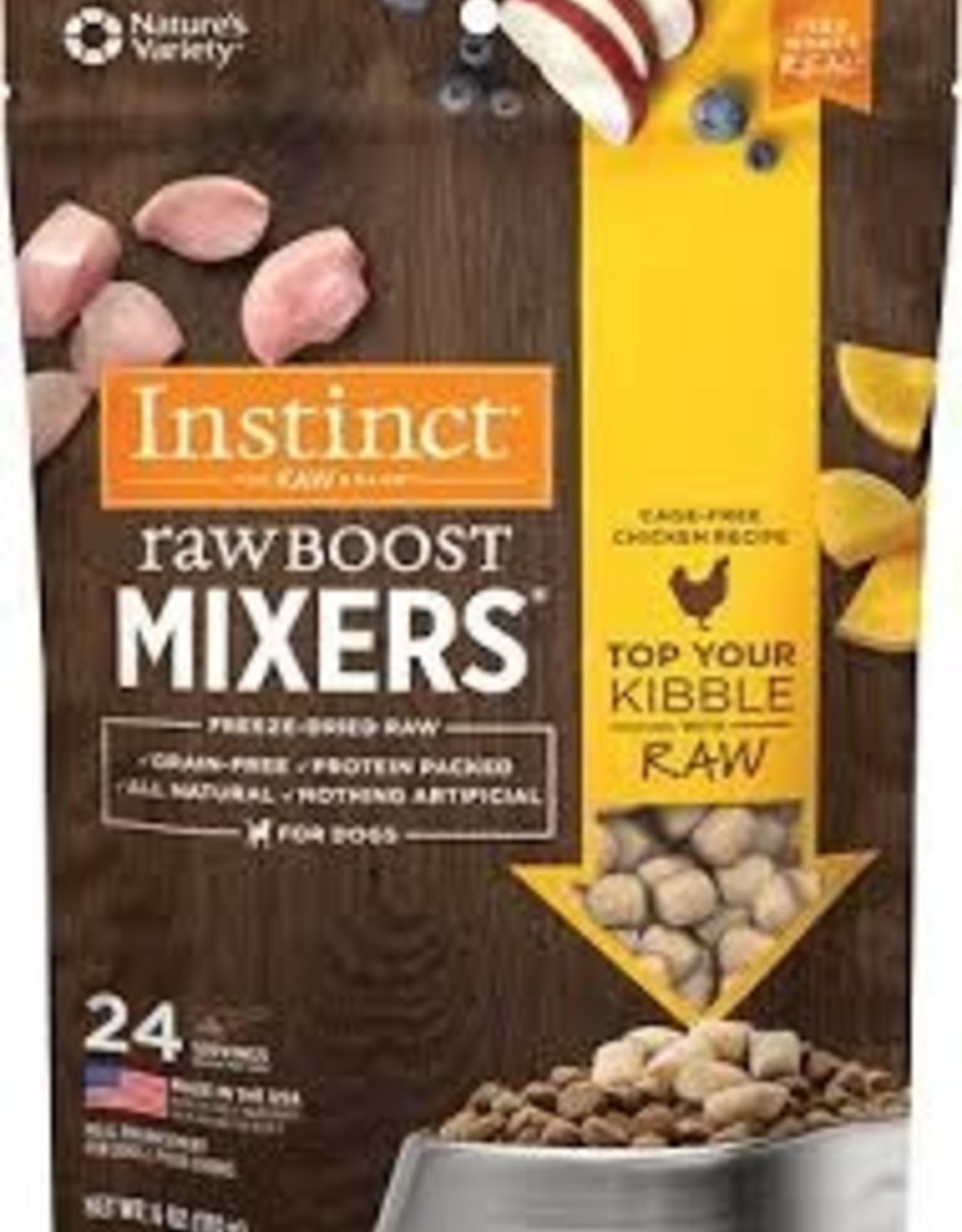 NATURE'S VARIETY Instinct Raw Boost Mixers Chicken 6oz