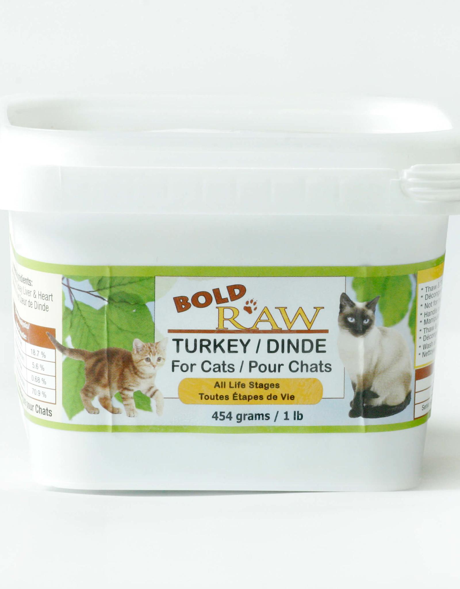 Bold Raw Bold Raw Cat Turkey 2lb
