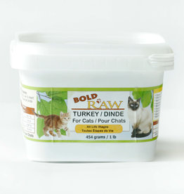 Bold Raw Bold Raw Cat Turkey 2lb