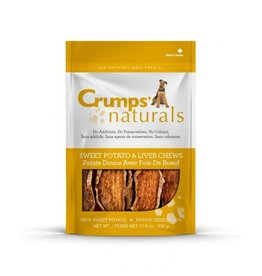 CRUMPS Sweet Potato & Liver Chews 11.6 oz