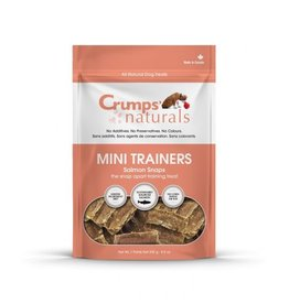 CRUMPS Mini Trainers Salmon Snaps 4.2 oz