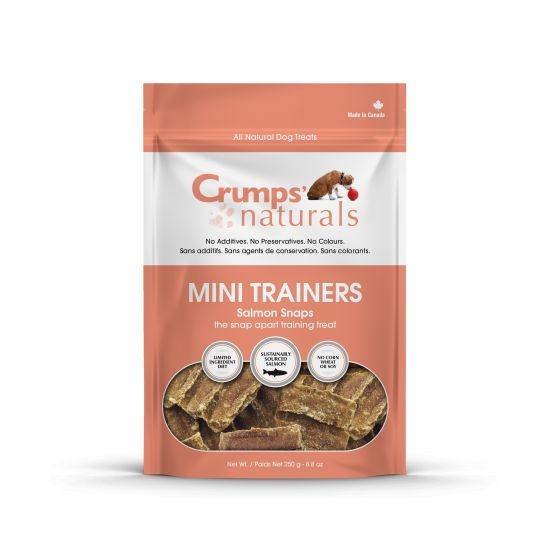 Crumps' Mini Trainers Salmon Snaps 120g