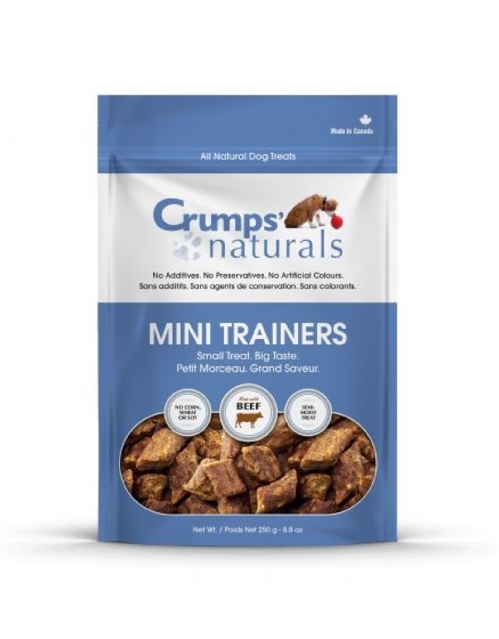 CRUMPS Mini Trainers Beef 8.8 oz
