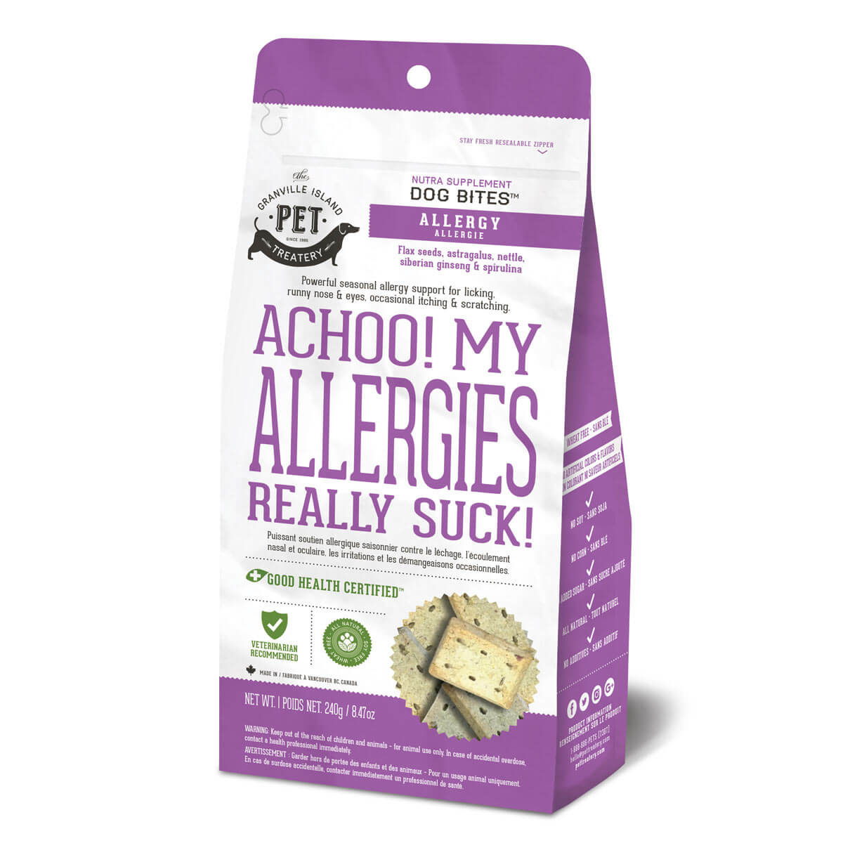 Granville Island Nutra Bite for Allergy 8.47 oz