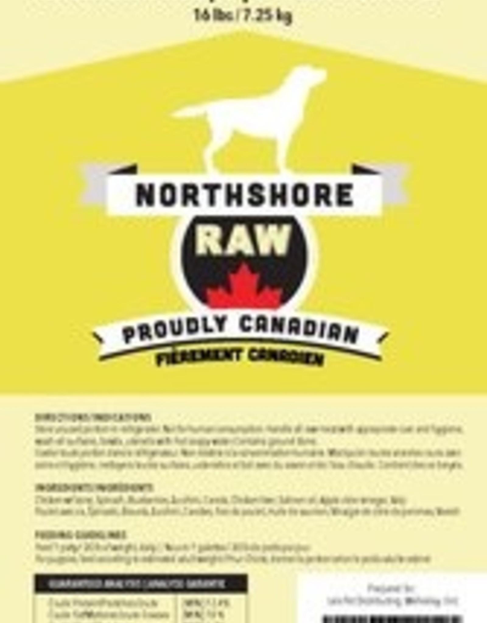 Northshore Raw Northshore Raw Chicken  16lb