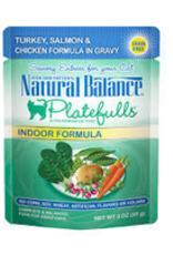 NATURAL BALANCE PET FOODS INC NB Platefulls / Indoor / Turkey, Salmon & Chicken 3oz