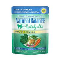 NATURAL BALANCE PET FOODS INC NB Platefulls / Indoor / Turkey, Salmon & Chicken 3oz