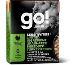 Go Go! Dog Shredded Turkey 12.5 oz