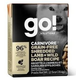 Go Go! Dog Lamb + Wild Boar 12.5 oz