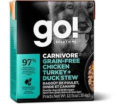Go Go! Dog Chicken, Turkey + Duck Stew 12.5oz