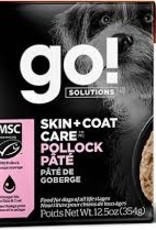 Go Go! Dog Pollock Pate 12.5 oz