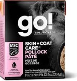 Go Go! Dog Pollock Pate 12.5 oz