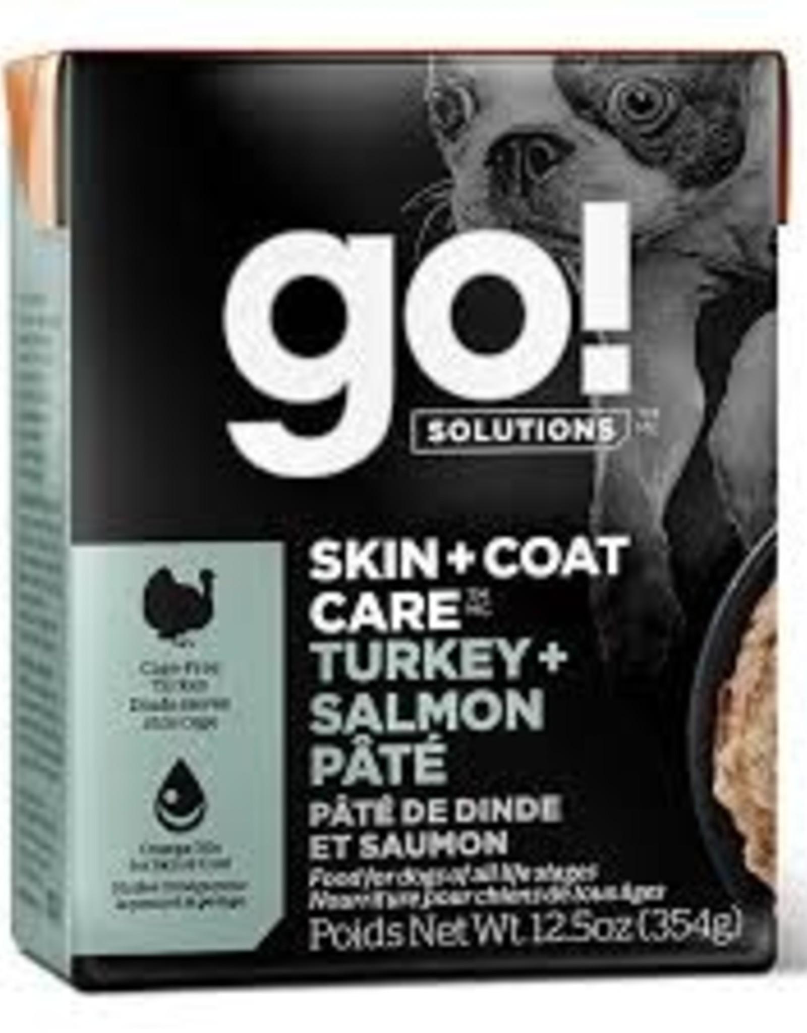 Go Go! Dog Turkey + Salmon 12.5 oz