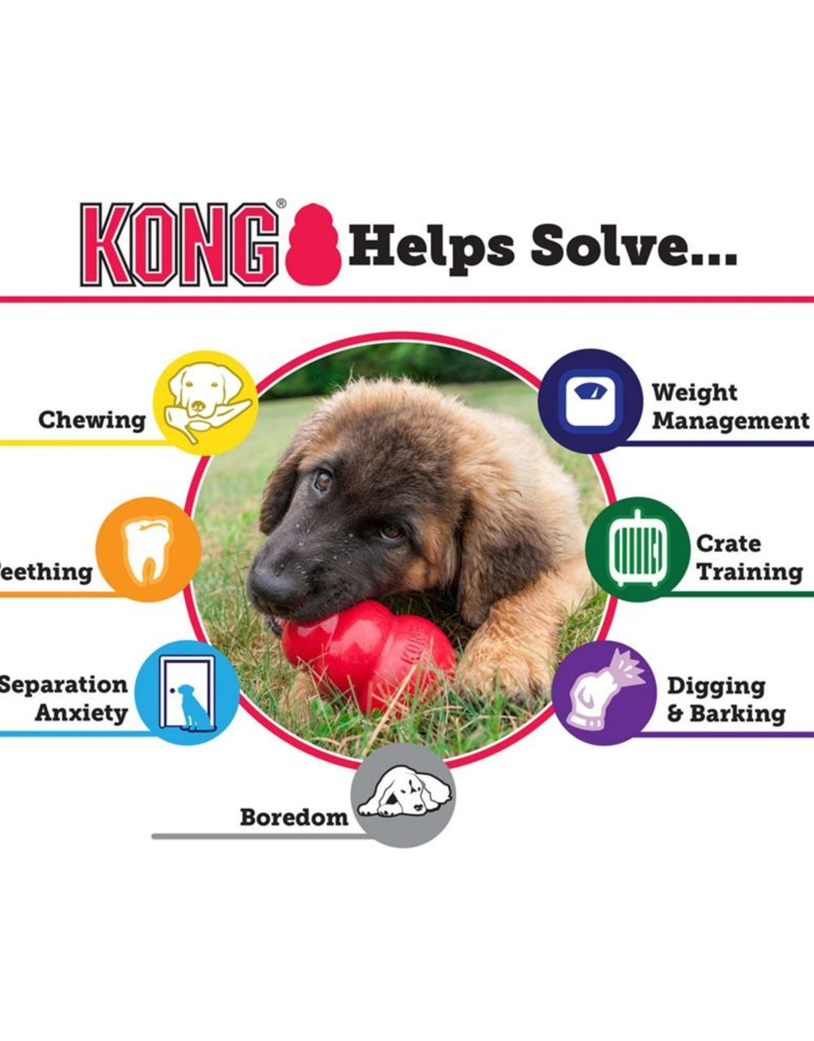 KONG Classic Small Red