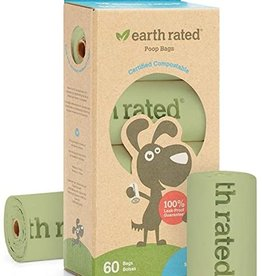 Earth Rated Earth Rated Eco-Friendly Compostable Poo Bags (60ct)