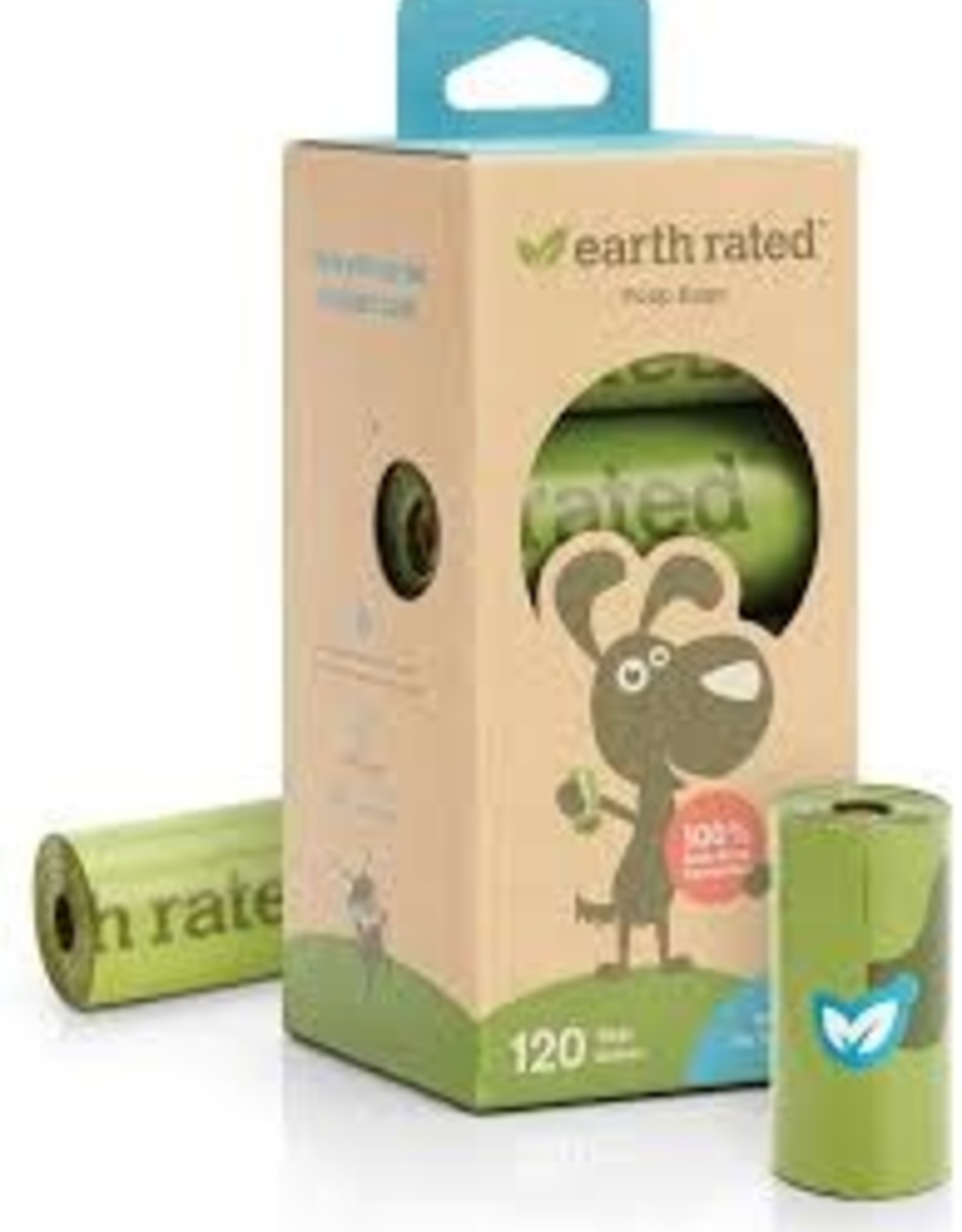 Earth Rated Earth Rated Unscented Eco-Friendly Bags (120ct)