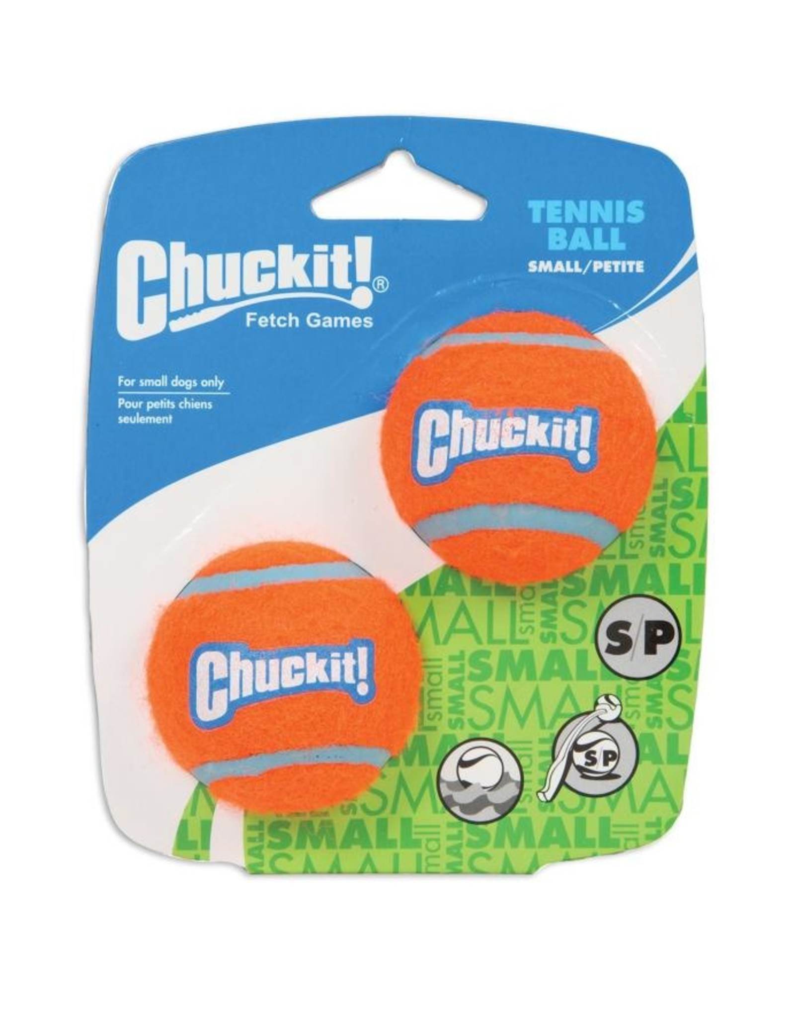 Chuckit Tennis Ball Small (2 pk)