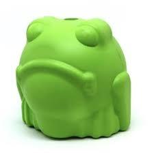 Mutts Kick Butts Mutts Kick Butt Bull Frog Treat Dispenser Chew Toy