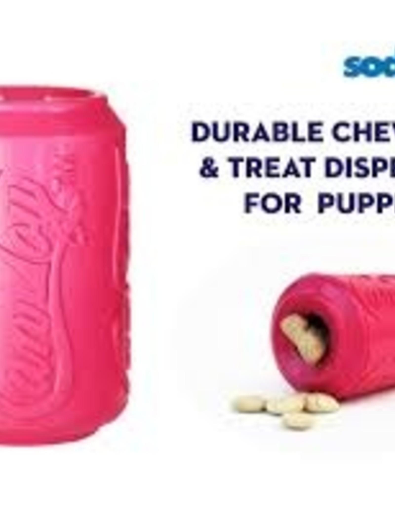 Sodapup Sodapup Puppy Treat Dispenser & Chew Toy Lrg