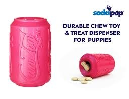 Sodapup Sodapup Puppy Treat Dispenser & Chew Toy Lrg