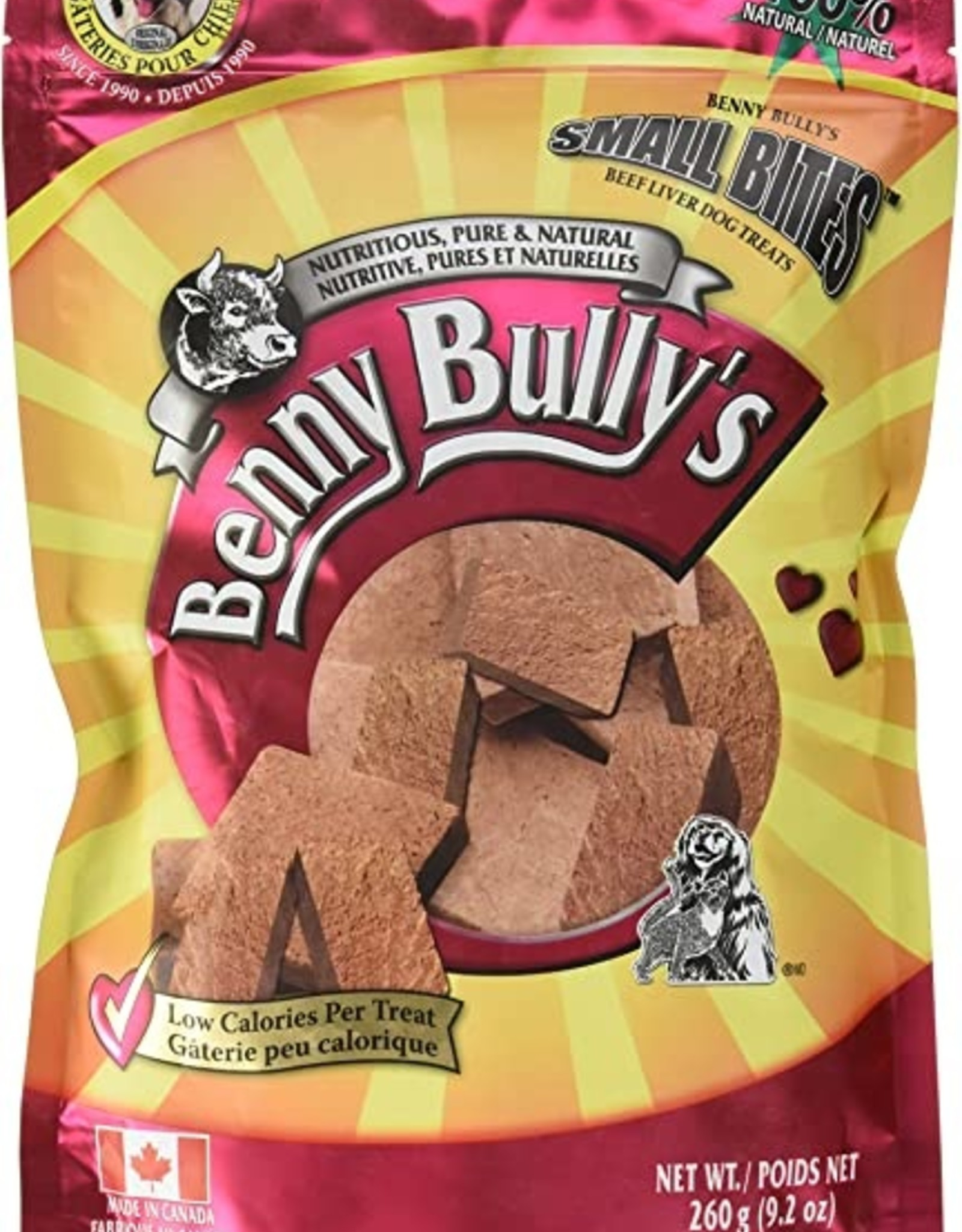 Benny Bullys Benny Bully's Beef Liver 260g