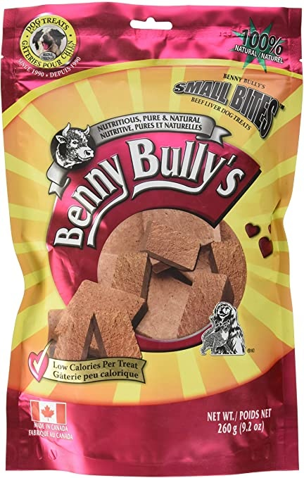 Benny Bullys Benny Bully's Beef Liver (Small Bites) 260g
