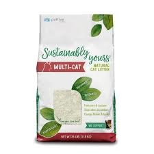 Sustainably Yours Multi-Cat Litter 26lbs