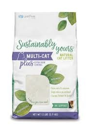 Sustainably Yours Multi-Cat Litter 13lbs