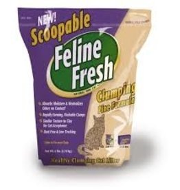FELINE FRESH SCOOPABLE PINE 6LB