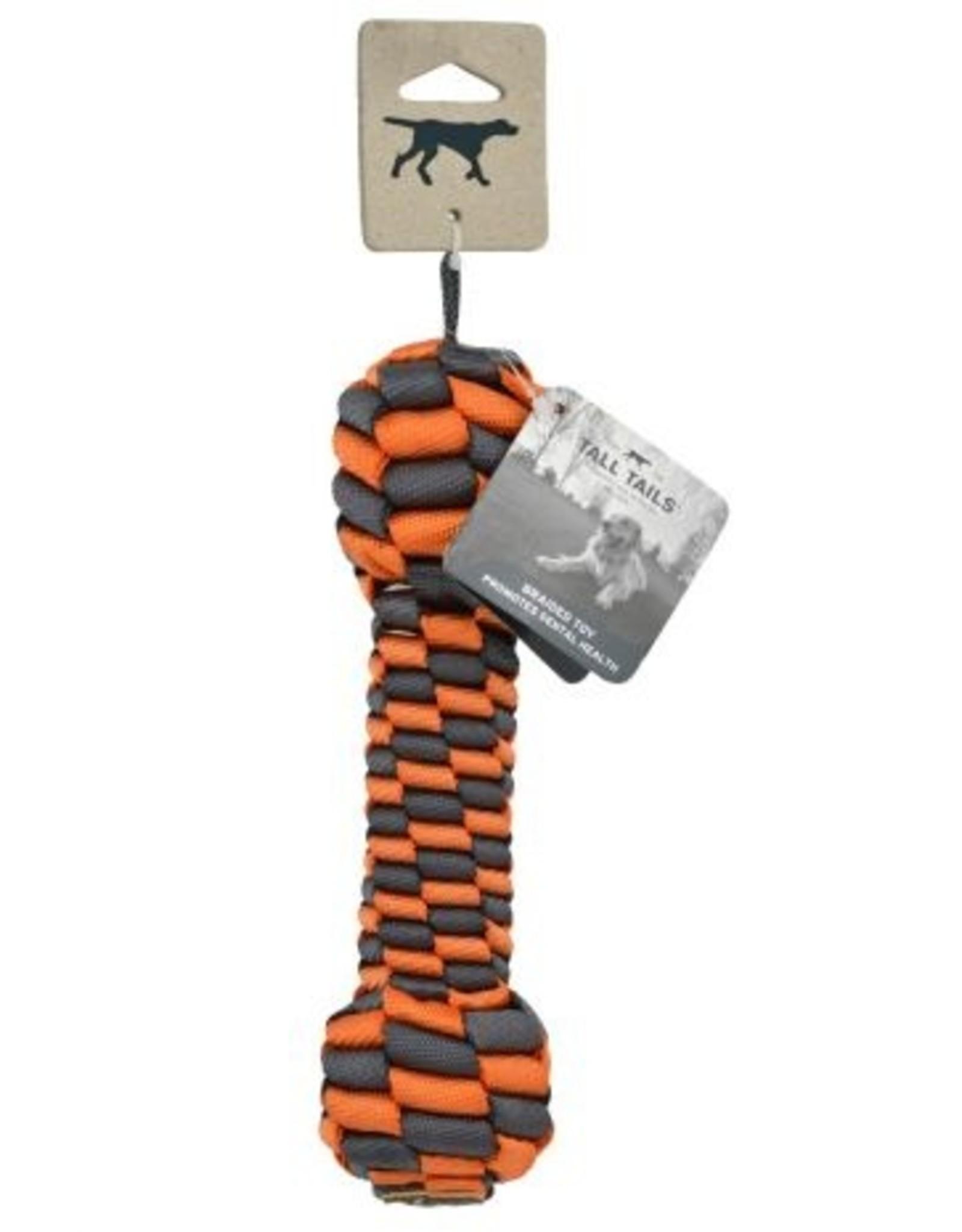 Tall Tails Tall Tails Braided Bone (Orange)